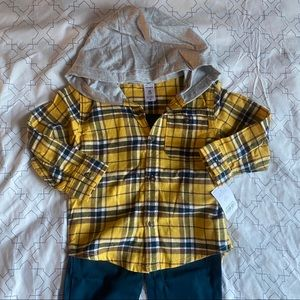 Carter's toddler size 2T, 2 piece